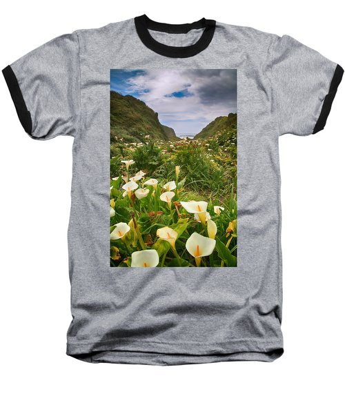 Valley Of The Lilies Baseball T-Shirt