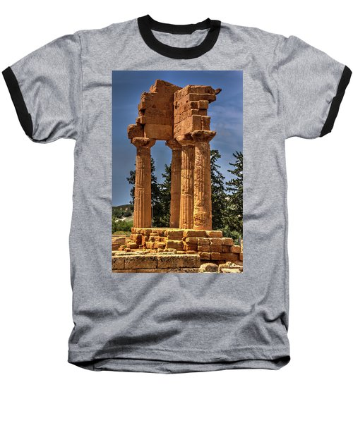 Valley Of The Temples I Baseball T-Shirt by Patrick Boening