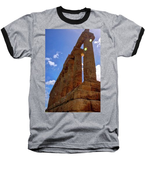 Valley Of The Temples Iv Baseball T-Shirt by Patrick Boening