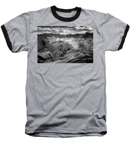 Baseball T-Shirt featuring the photograph Valley Of Fire Expanse by Jason Moynihan