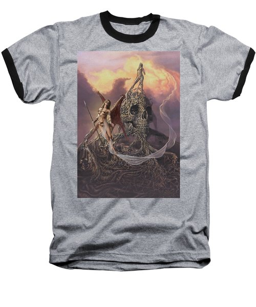 Vampis Lair Baseball T-Shirt