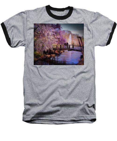 Van Gogh Bridge - Reston, Virginia Baseball T-Shirt