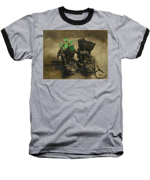 Baseball T-Shirt featuring the digital art Van Septilegogh by Greg Sharpe