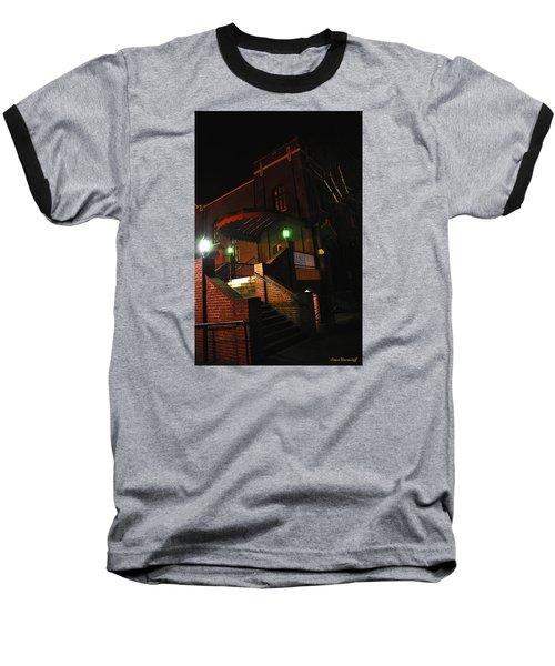 Vancouver Arts Building Baseball T-Shirt