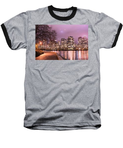 Baseball T-Shirt featuring the photograph Vancouver, Canada by Juli Scalzi