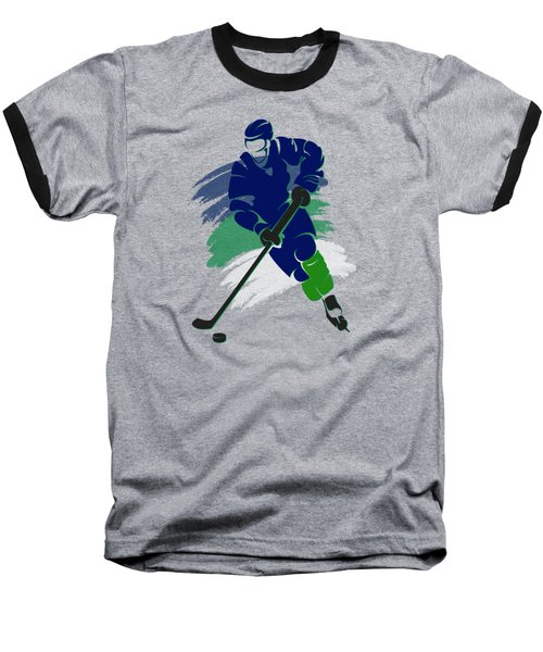 Vancouver Canucks Player Shirt Baseball T-Shirt by Joe Hamilton