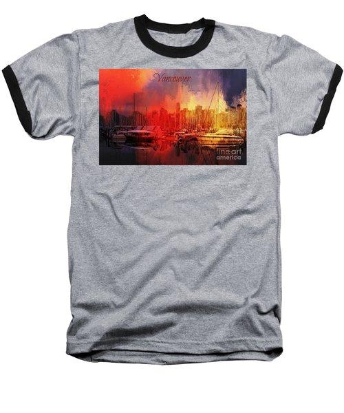 Vancouver Baseball T-Shirt by Eva Lechner