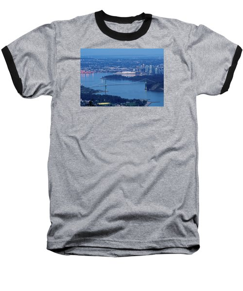 Vancouver Harbour Late Afternoon Baseball T-Shirt