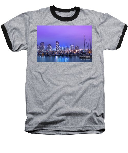 Baseball T-Shirt featuring the photograph Vancouver by Juli Scalzi