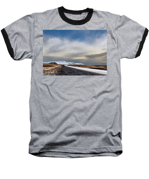 Vanishing Point Baseball T-Shirt