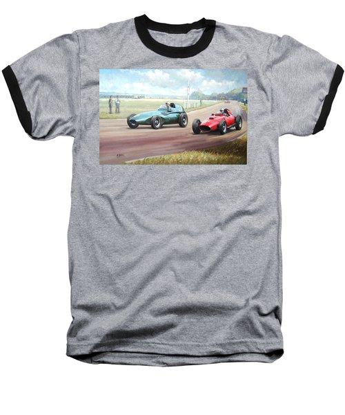 Vanwall Victory Baseball T-Shirt