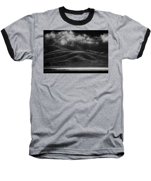 Baseball T-Shirt featuring the photograph Vapor by Brian Duram