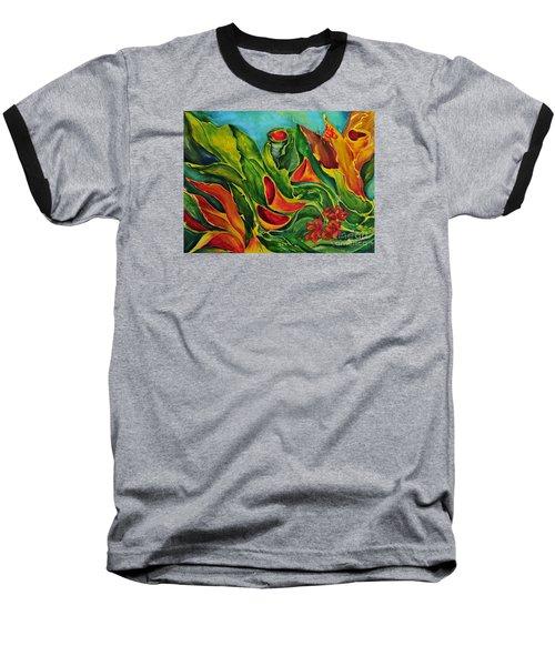 Variation Baseball T-Shirt by Teresa Wegrzyn
