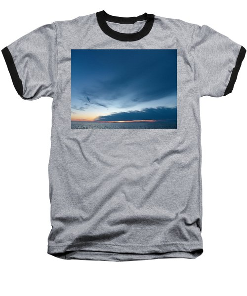 Baseball T-Shirt featuring the photograph Variations Of Sunsets At Gulf Of Bothnia 4 by Jouko Lehto