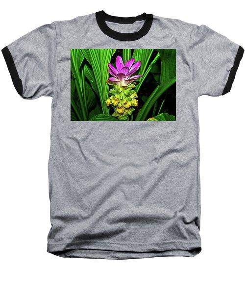 Variegated Hidden Ginger 001 Baseball T-Shirt