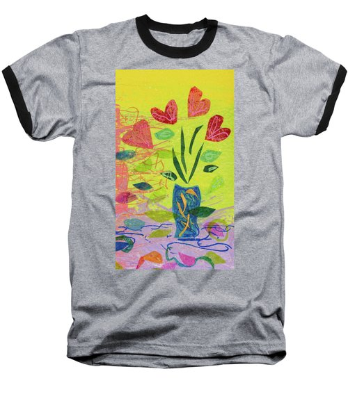 Vase Full Of Love Baseball T-Shirt
