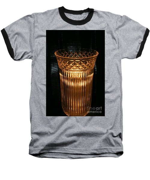 Vase In Amber Light Baseball T-Shirt by Marie Neder