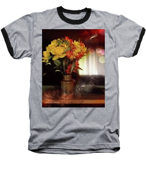 Vase Of Flowers Baseball T-Shirt