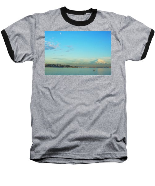 Baseball T-Shirt featuring the photograph Vashon Island by Angi Parks