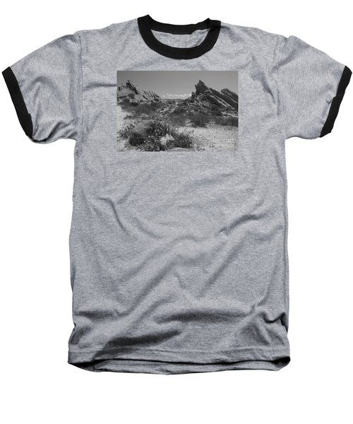 Vasquez Rocks Baseball T-Shirt by Ivete Basso Photography