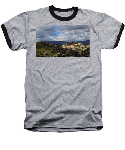 Vasquez Rocks Natural Area Baseball T-Shirt