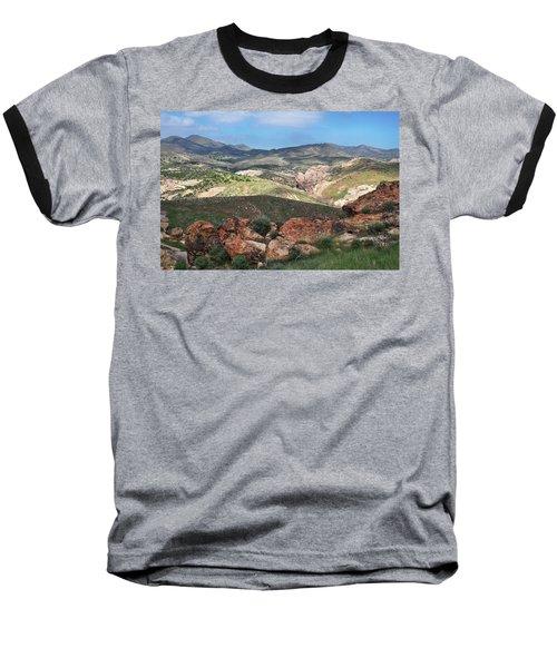 Vasquez Rocks Park Baseball T-Shirt