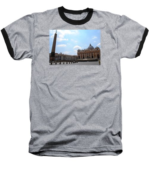Baseball T-Shirt featuring the photograph Vatican On Sunny Day by Robert Moss