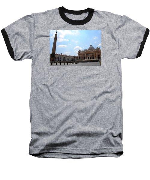 Vatican On Sunny Day Baseball T-Shirt