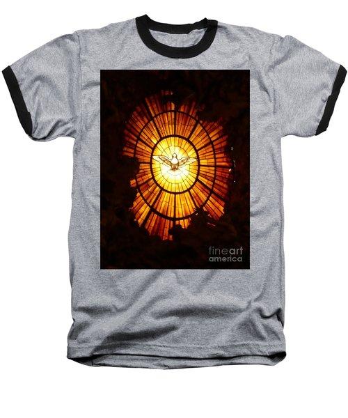 Vatican Window Baseball T-Shirt