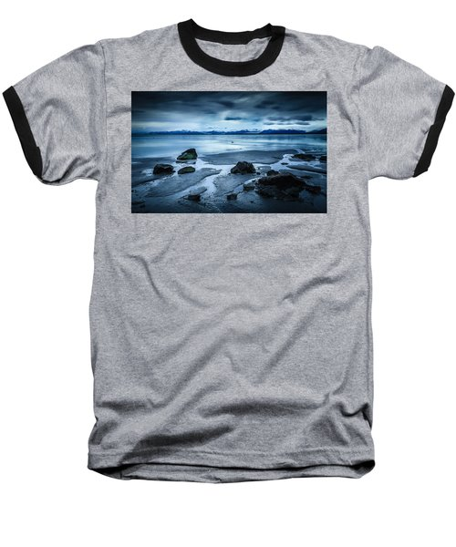 Vatnajokull From Stokksnes Baseball T-Shirt