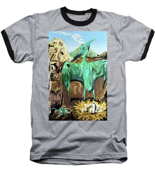 Vega Baseball T-Shirt by Ryan Demaree