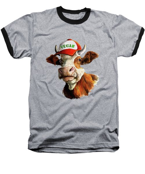 Vegan Baseball T-Shirt