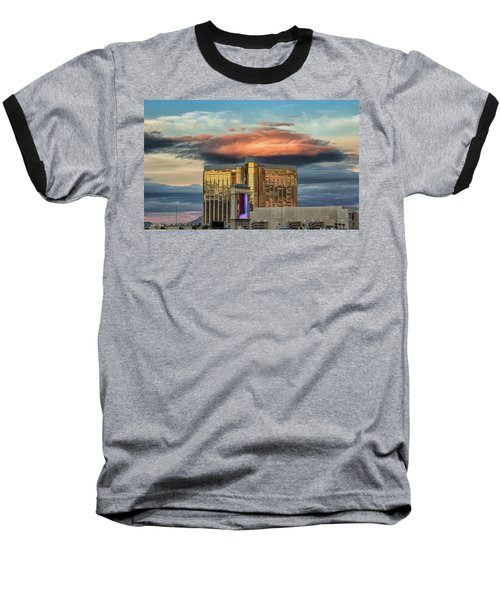 Baseball T-Shirt featuring the photograph Vegas by Michael Rogers