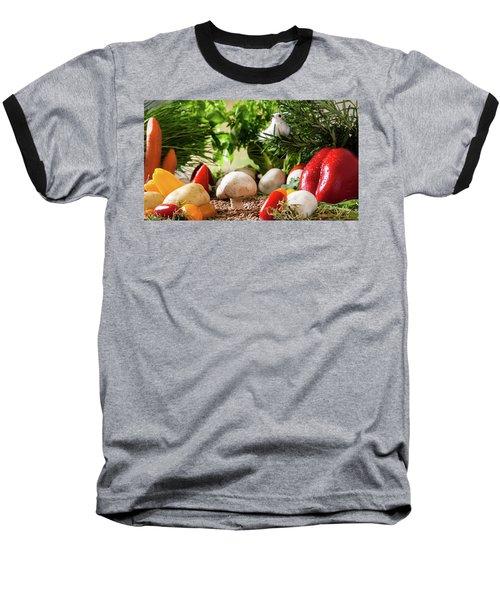 Vegetable Garden Baseball T-Shirt