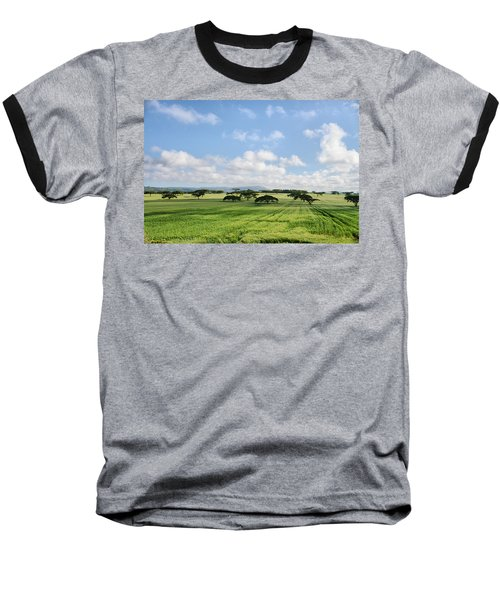 Vegetation Baseball T-Shirt
