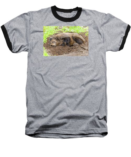 Veggin Out Baseball T-Shirt