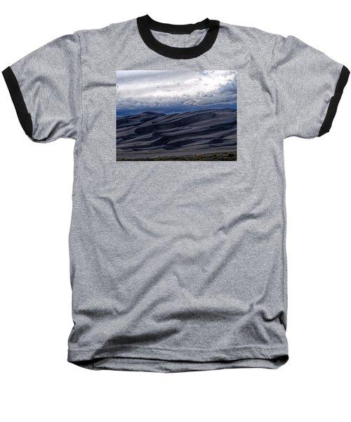 Velvet At Night Baseball T-Shirt by Alana Thrower