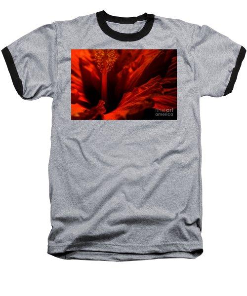 Velvet Seduction Baseball T-Shirt by Sheila Ping
