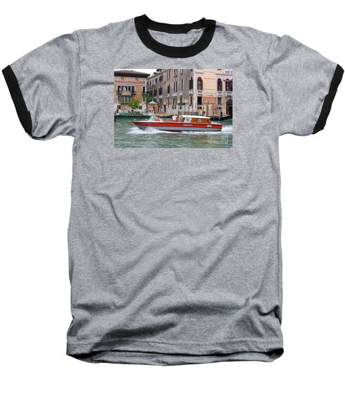 Venetian Ambulance Baseball T-Shirt