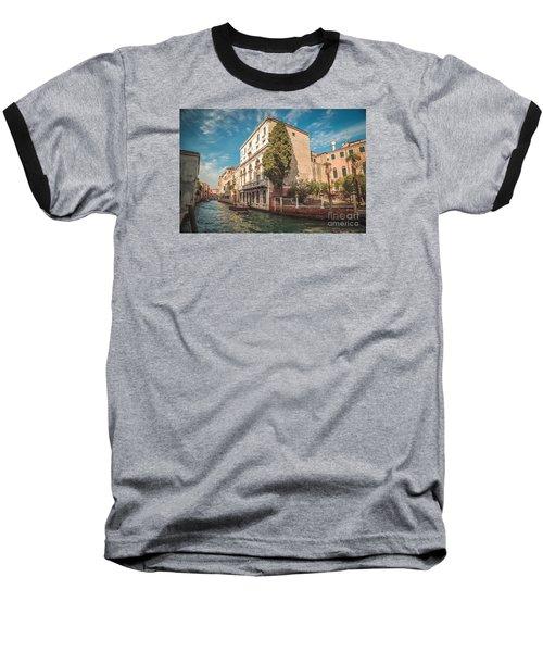 Venetian Architecture And Sky - Venice, Italy Baseball T-Shirt