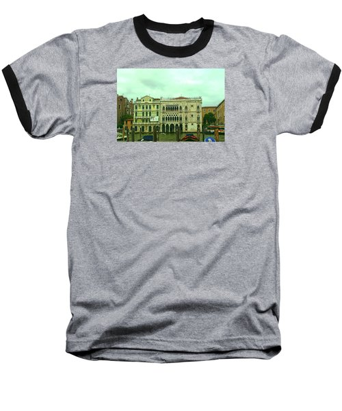 Baseball T-Shirt featuring the photograph Venetian Aternoon by Anne Kotan
