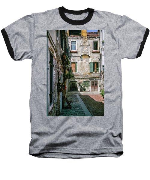Venetian Back Street Baseball T-Shirt