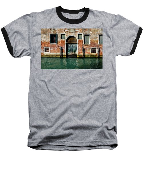 Venetian House On Canal Baseball T-Shirt