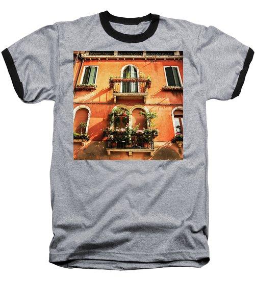 Venetian Windows Baseball T-Shirt
