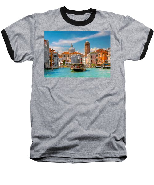 Venezia. Fermata San Marcuola Baseball T-Shirt