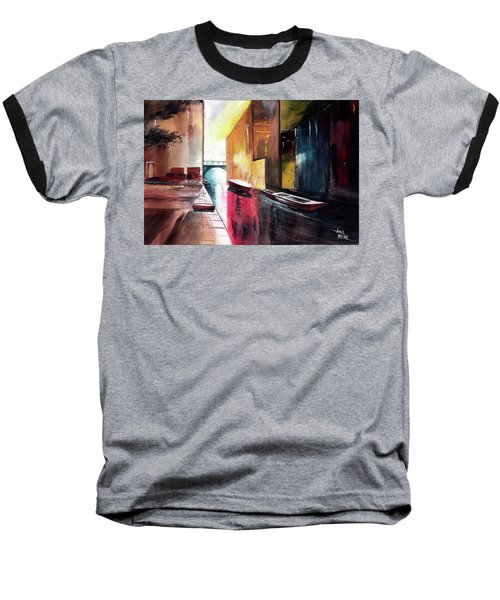 Baseball T-Shirt featuring the painting Venice 1 by Anil Nene