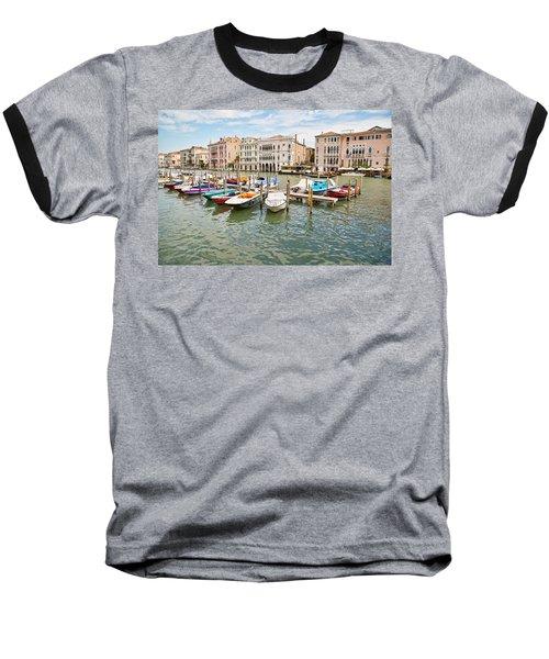 Venice Boats Baseball T-Shirt