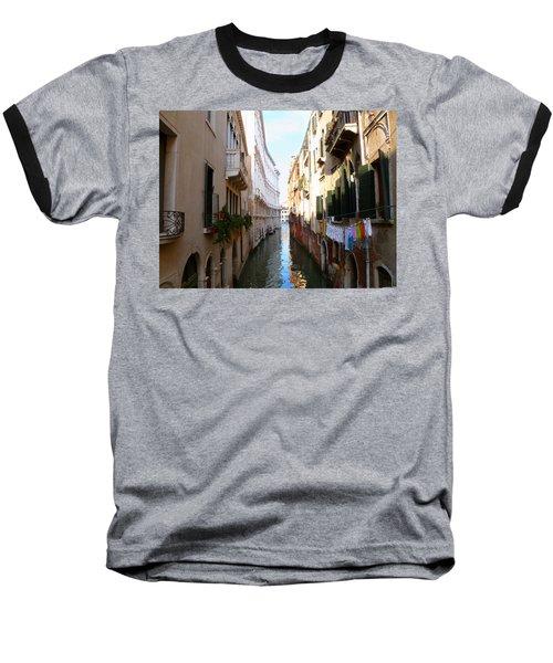Venice Canal Baseball T-Shirt