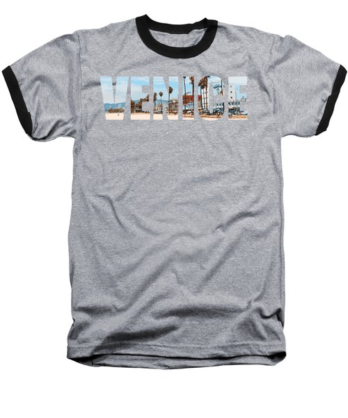 Venice Baseball T-Shirt by Carmen Fanali