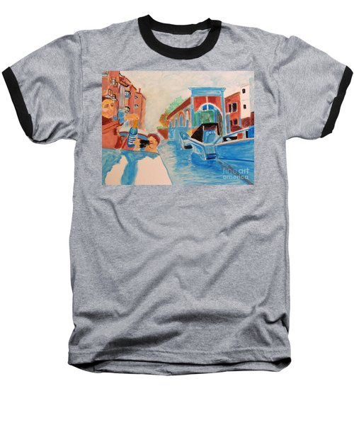 Venice Celebration Baseball T-Shirt